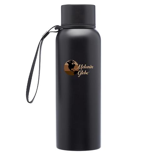 Melanin Globe Water Bottle