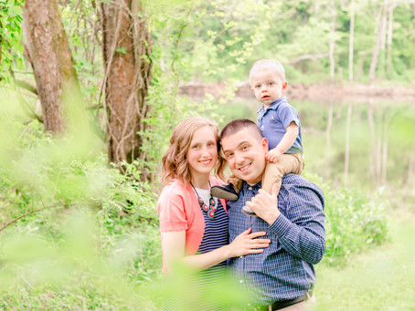 Family Portrait Session   The Hannel Family