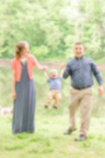 A young family makes precious memories