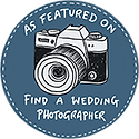 find wedding photographer badge