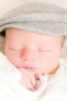 Cute Newborn Photo taken in Exeter, Devon