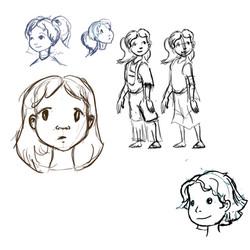 Stephanie sketches