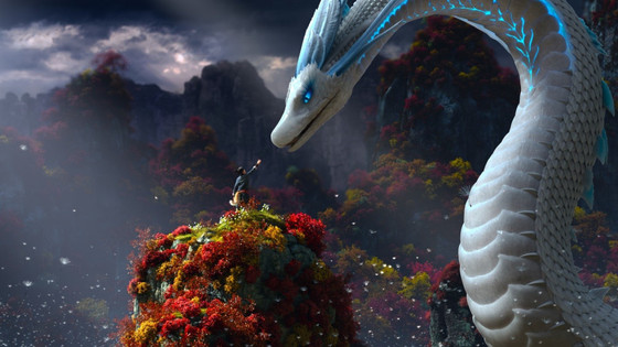 "In the den - A look at "" White Snake"" animated film."