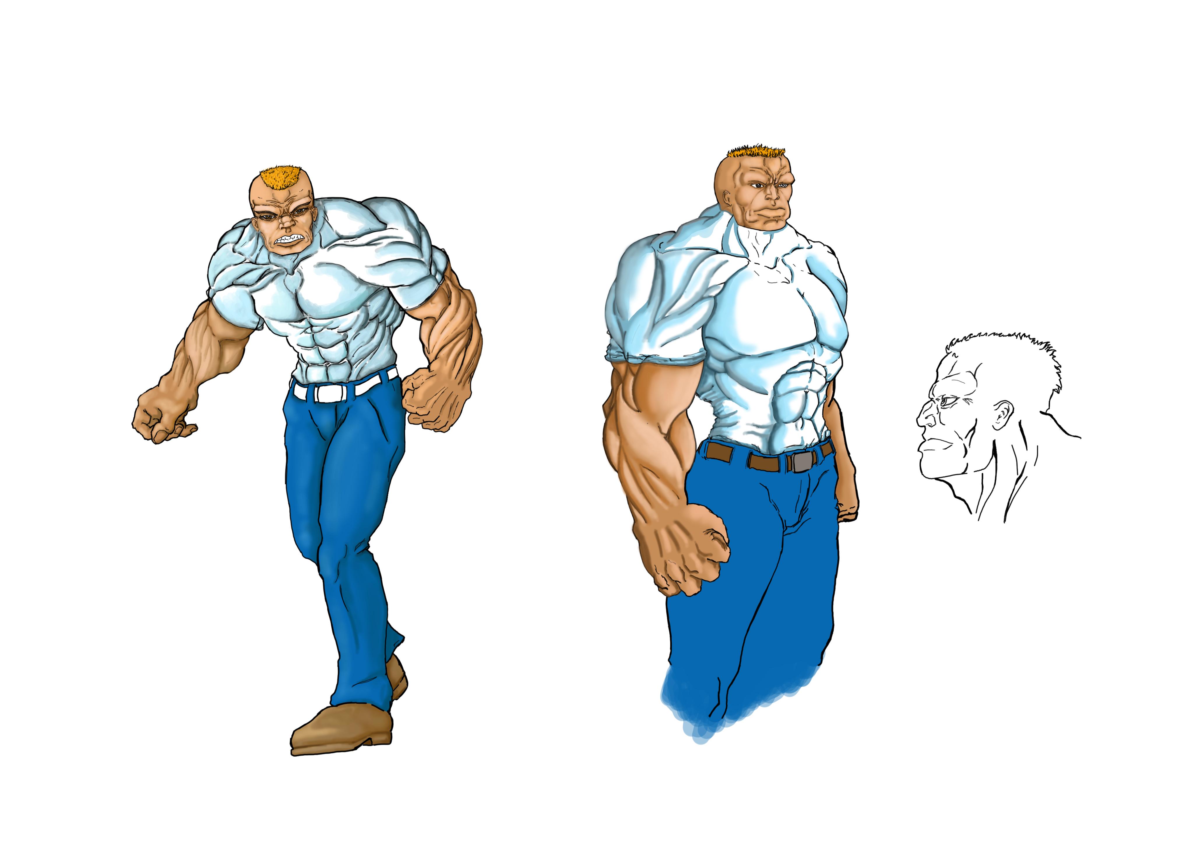 bruno+Character+designcolod