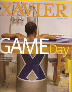Xavier magazine covers