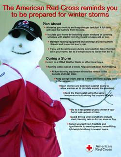 Red Cross Safety Flyers