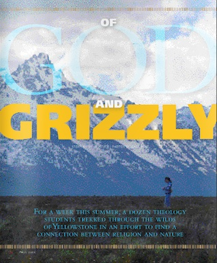 Of God and Grizzly