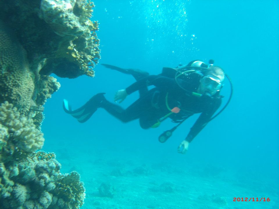 Me, in one of my first dives