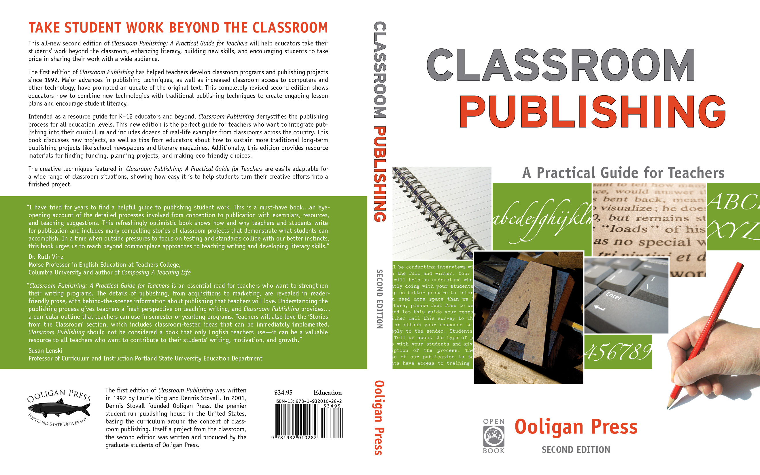 Classroom Publishing jacket