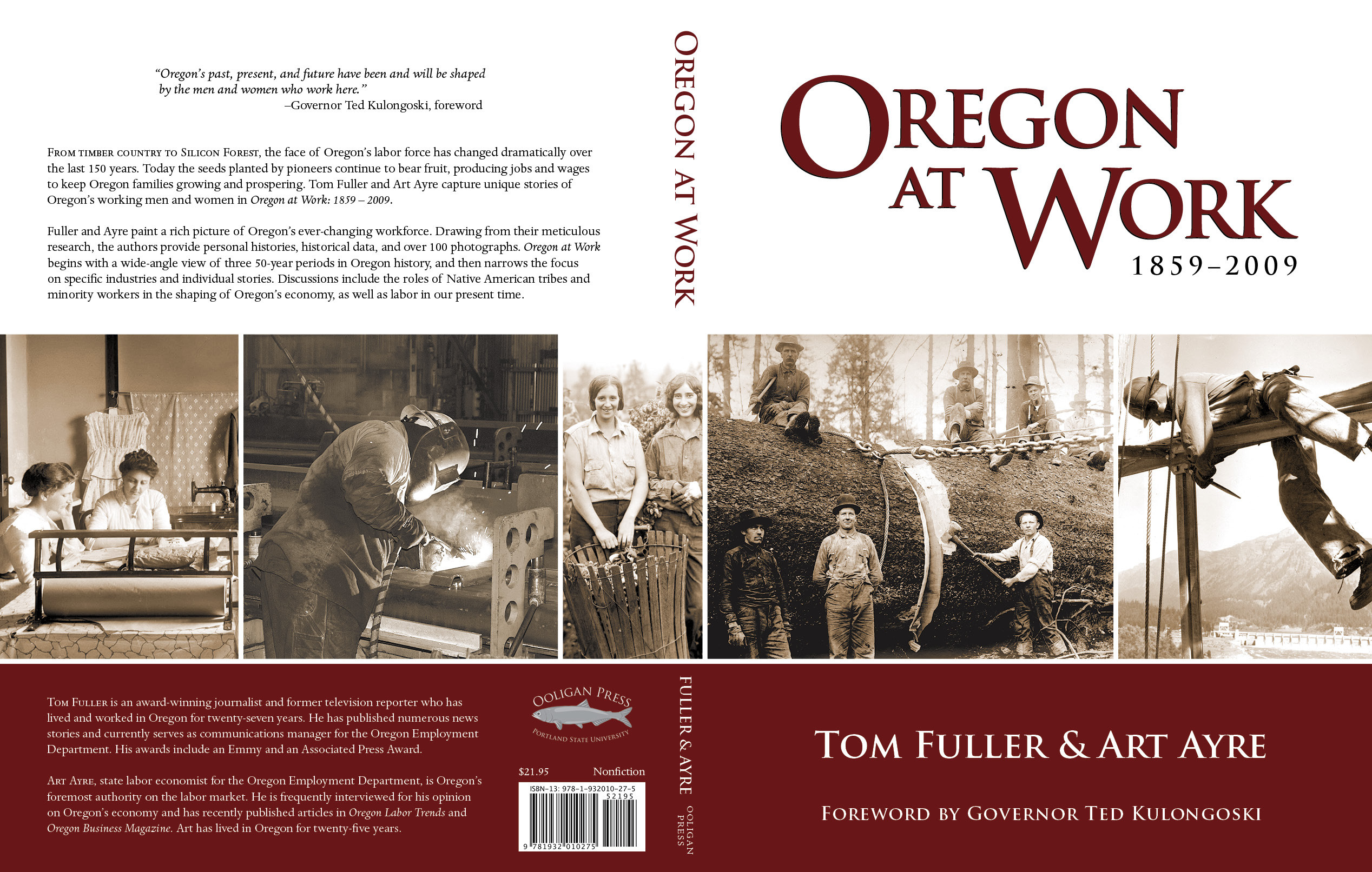 Oregon At Work: 1859–2009 jacket