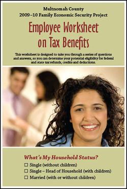 Multnomah County's tax worksheet