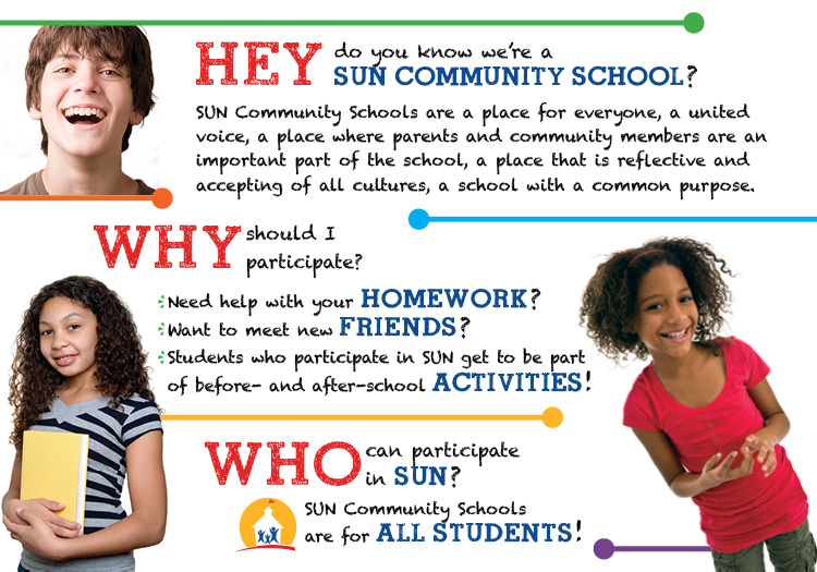 SUN Community Schools outreach