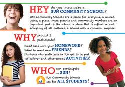 SUN Community Schools outreach