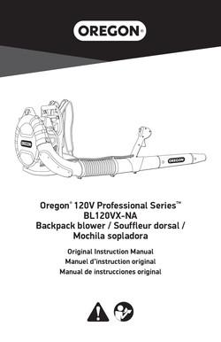 Oregon ProBC blower manual