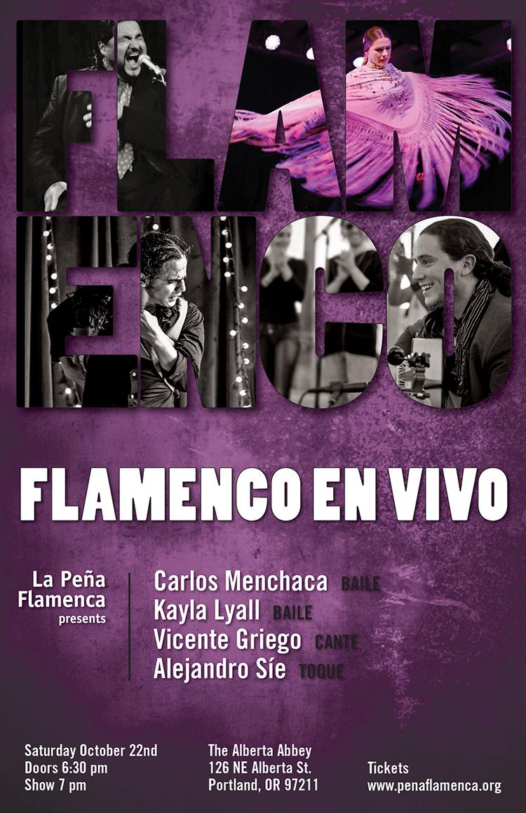 Flamenco En Vivo poster