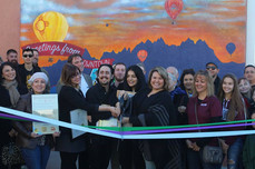 Ribbon Cutting Ceremony for Color Me Cruces