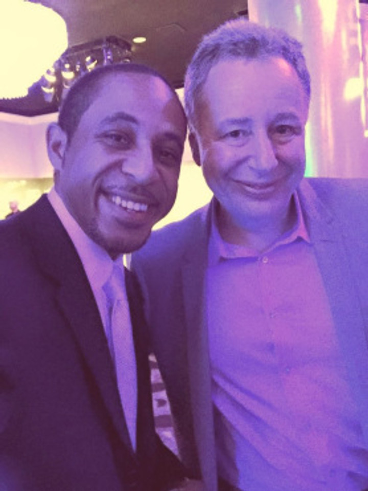 With the founder of Unite4:good and the Unite4:Humanity Gala, Anthony Melikhov