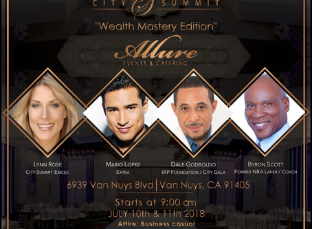 "Extra's Mario Lopez to Host ""City Summit – Wealth Mastery & Mindset Edition&#8"