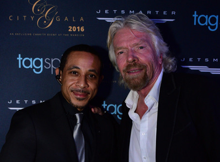 My Evening at CITY Gala w/ Sir Richard Branson & Diddy on GRAMMYs NIGHT 2016