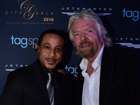 My Evening at CITY Gala w/ Sir Richard Branson & Diddy on GRAMMYs NIGHT 2016