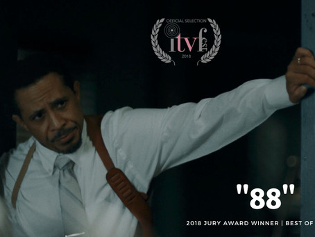 "WE WON!! ""88"" Took Home The JURY AWARD At ITV FEST!!"
