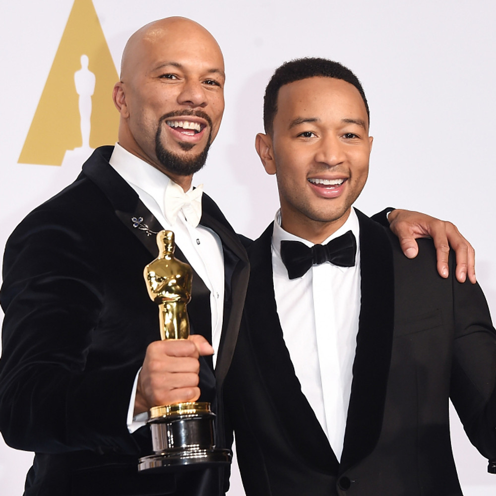 """John Legend and Common win Oscar for """"Glory"""""""