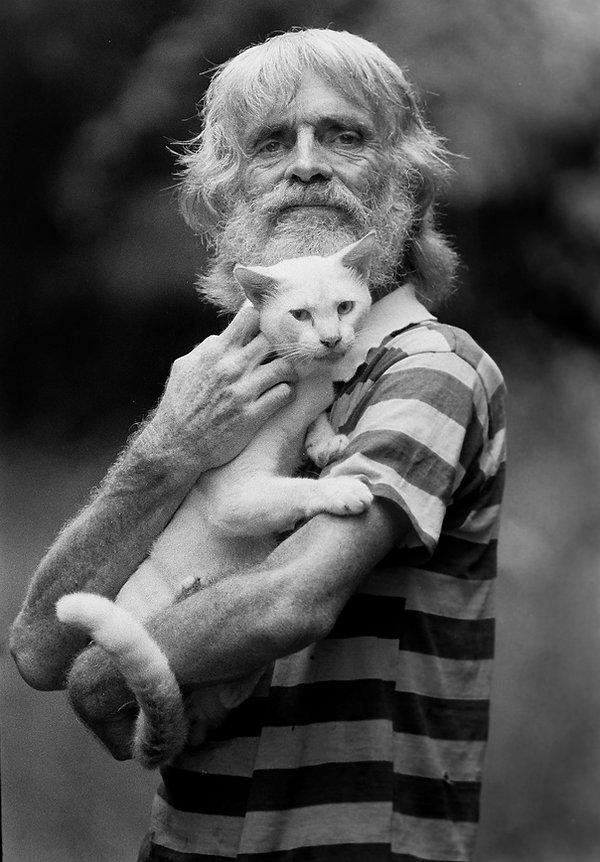 man with cat BW web.jpg