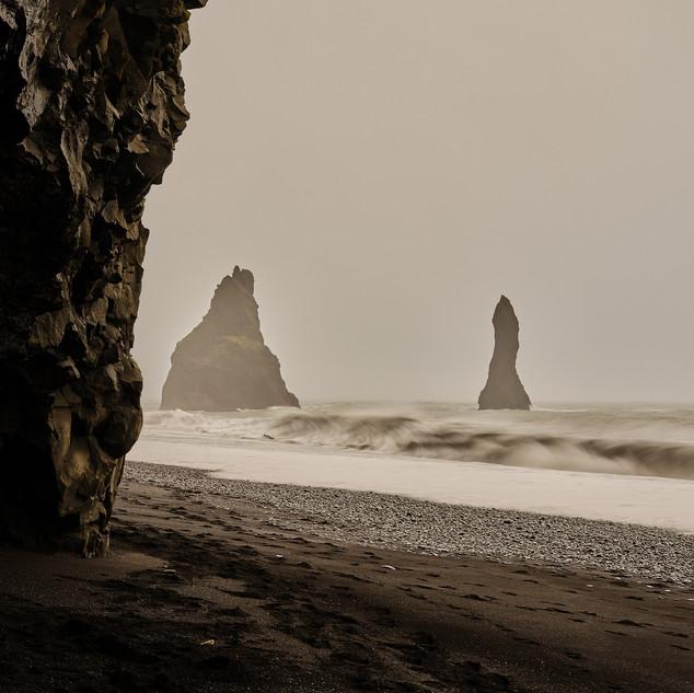 Plage islandaise