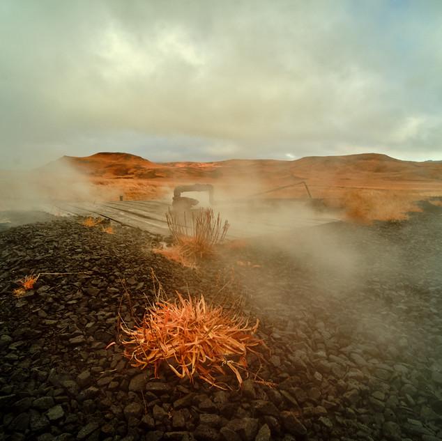 Vapeurs geothermiques