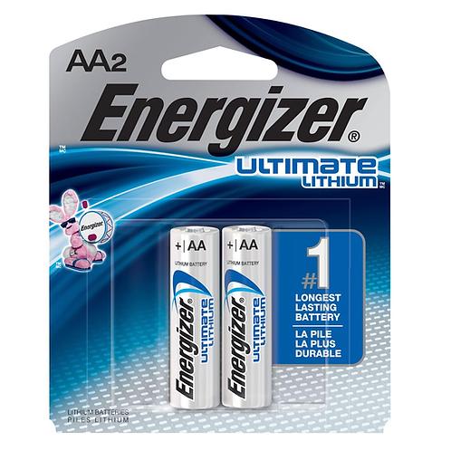 ENERGIZER LITHIUM AA2 BATT