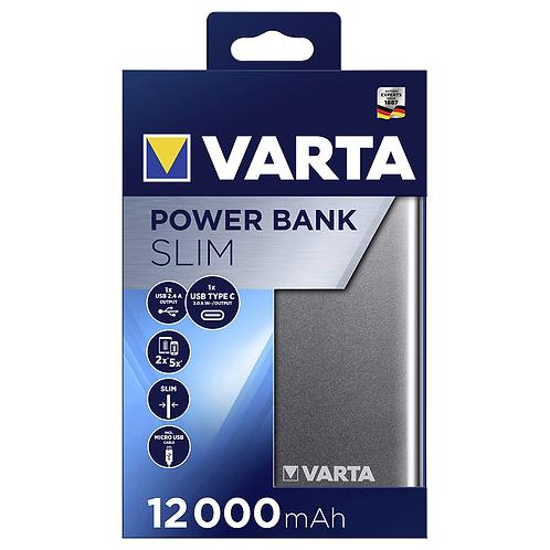 VARTA POWERBANK 12000MAH SLIM