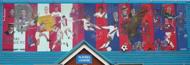 Crystal Palace FC centenary mural