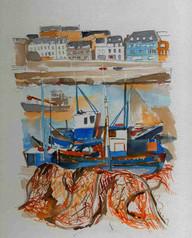 Fishing vessel, Burgundy