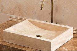 Travertine Wash Basin 14