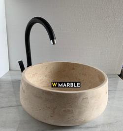 Travertine Wash Basin 16