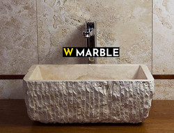 Travertine Wash Basin 04