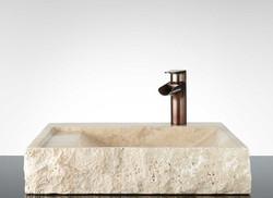 Travertine Wash Basin 08