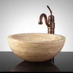 Travertine Wash Basin 02