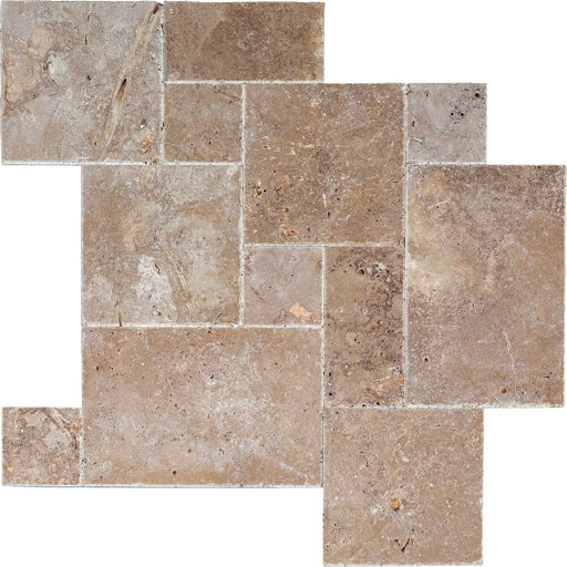 Noche Travertine Pattern Set