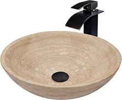 Travertine Wash Basin 03