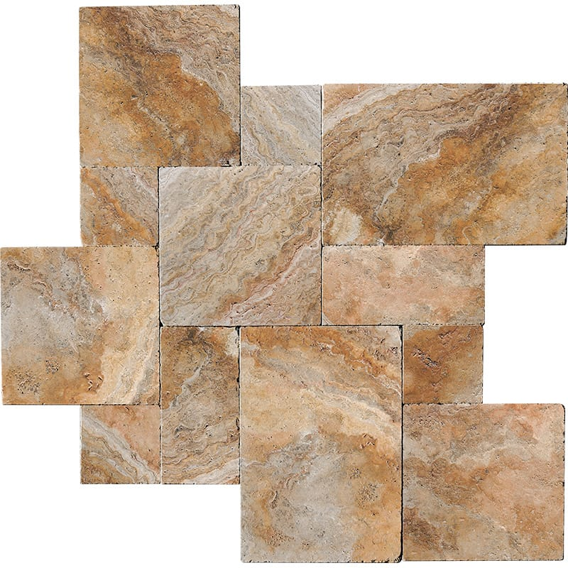 Scabos Travertine Pattern Set