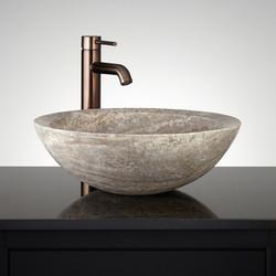 Travertine Wash Basin 07