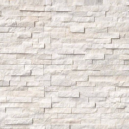 stacked stone ledger panel - LIGHT BEIGE
