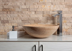 Travertine Wash Basin 17
