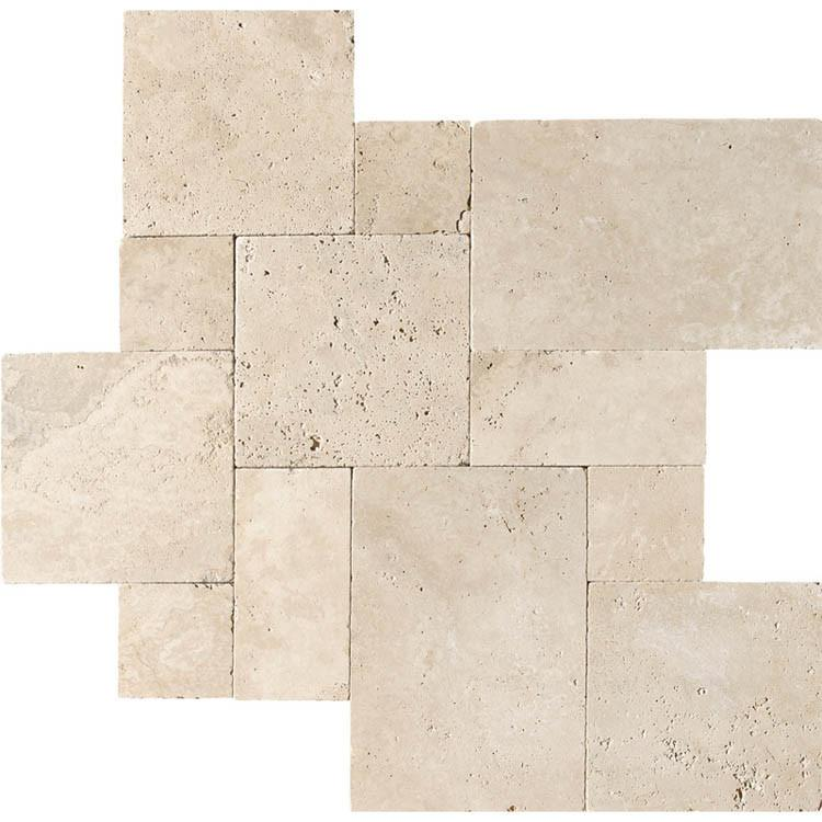 Ivory Travertine Pattern Set
