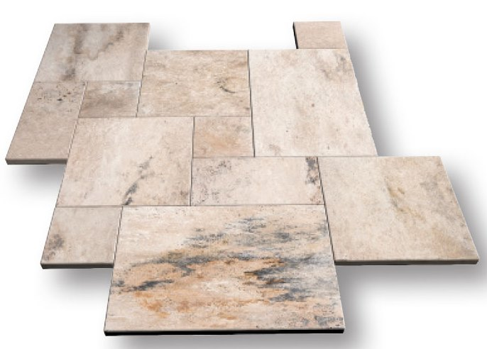 Country Travertine Pattern Set