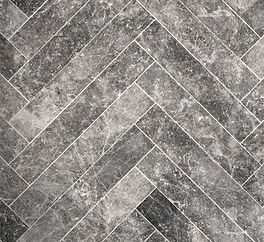 herringbone stone mosaic - savana grey.j