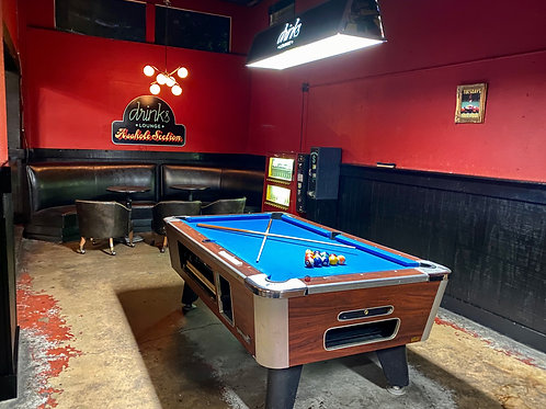 Front Pool Table