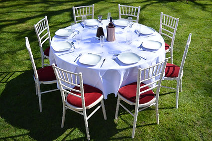 5ft Round Table to hire