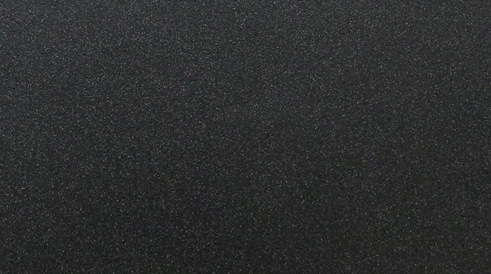 Муар черный матовый